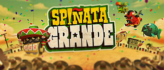 'Spinata Grande is the newest Mexican Pinata-themed slot game from NetEnt